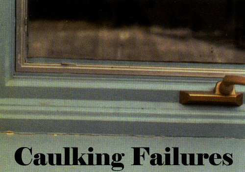 Caulking Failure