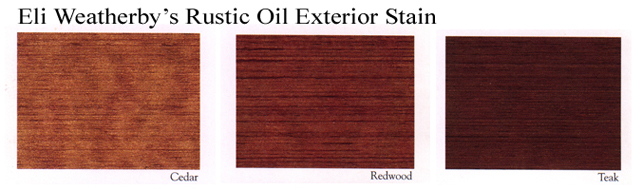 Oil woll not penetrate a water base stain